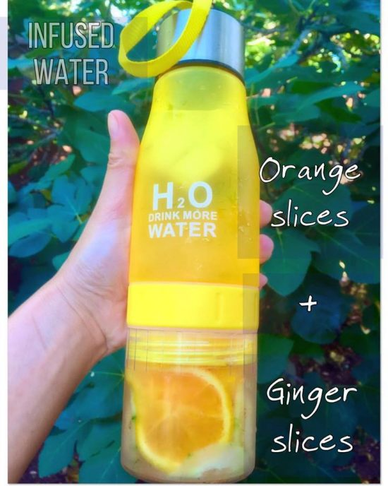 Ginger-Orange Infused water