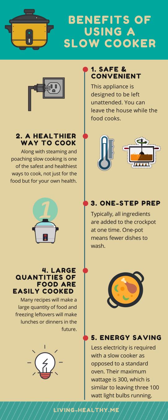 Benefits of using a crockpot